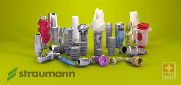 зубные импланты Штрауманн (Швейцария)